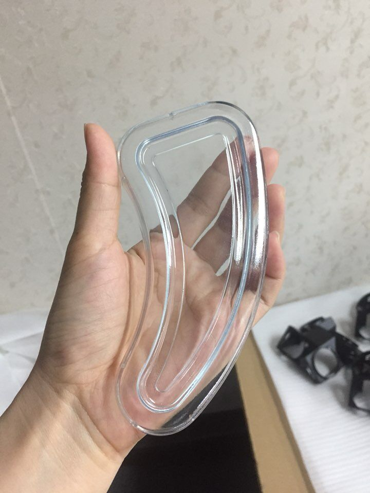 SLA rapid prototyping clear transparent